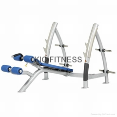 Hoist Strength Equipment Decline Olympic Bench (R1-24)