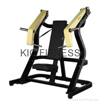 CE Certificated Fitness Machine Incline Chest Press (M03)