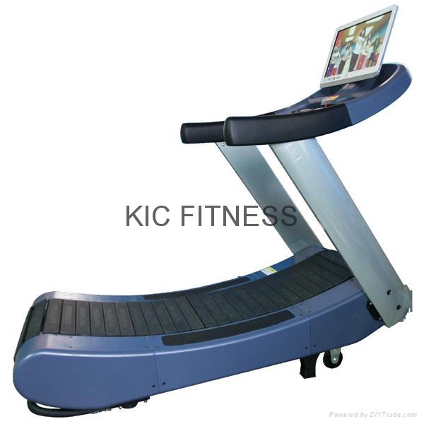 21.5′′ Display Woodway Self-Generating Curve Treadmill (K22) 2