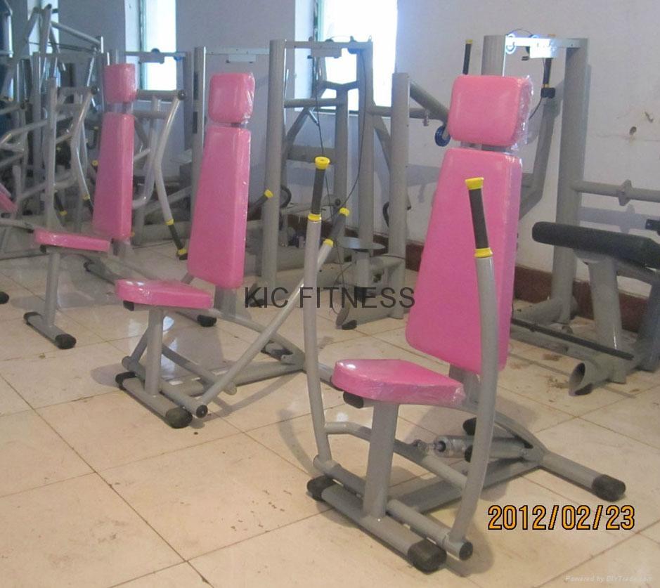 Hydraulic Circuit Training Equipment Chest Press & Row (H03) 2