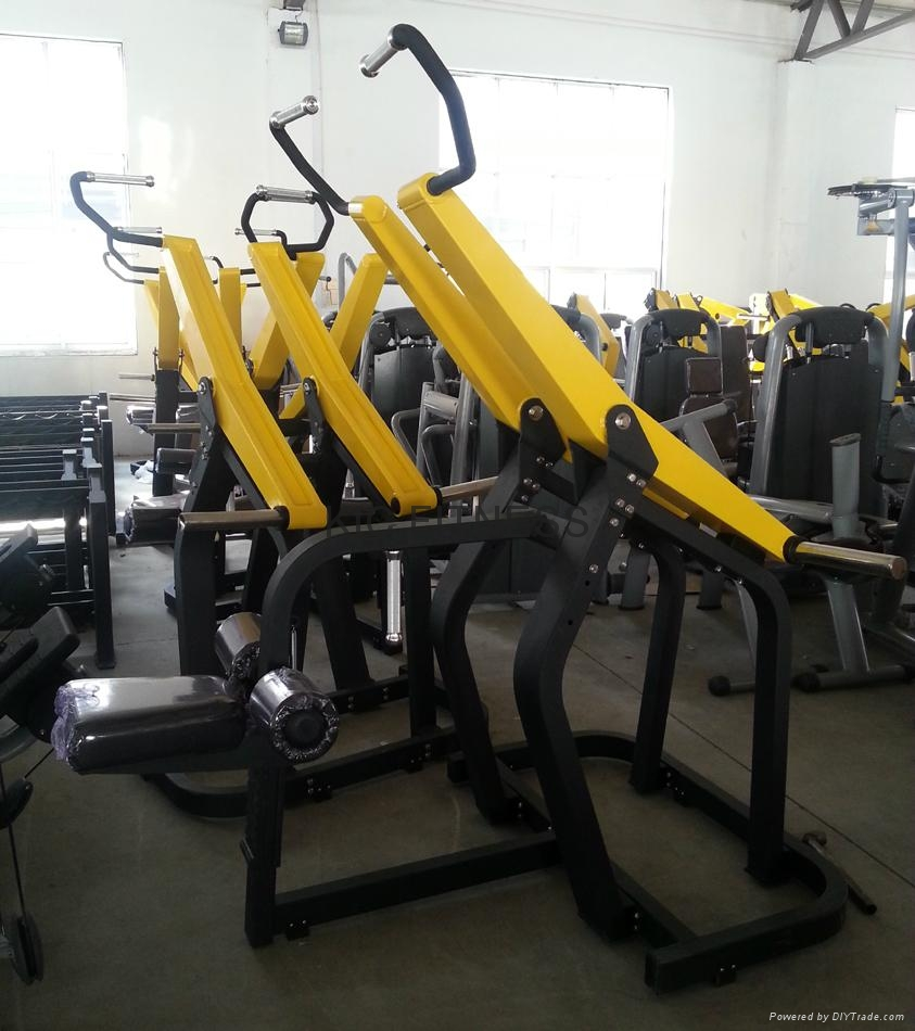 Ce certificated gym equipment low row m kic fitness