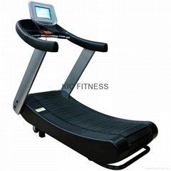 FCC Certificated Self-Generating Woodway Curve Treadmill (K10)