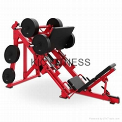 CE Approved Gym Equipment Hammer Streength Linear Leg Press (F1-1030)