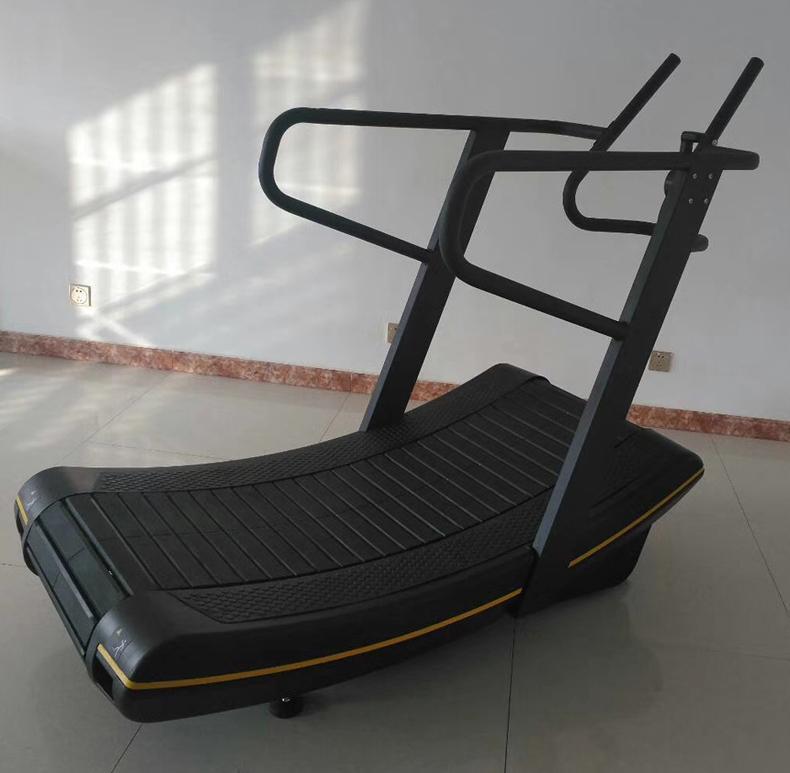 Self Generating Curve Treadmill