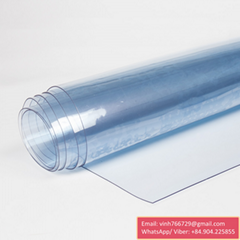 PVC Clear Sheet Vietnam