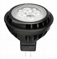 7W super bright mr16 led spot COB