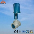 ZDLP Electric Actuated Single Seat Globe Control Valve 1