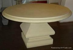 GFRC garden table and GRC outdoor table