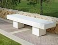 GRC garden table and GRC outdoor bench
