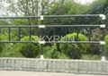 FRP isolation fence and glassfibre guardrail