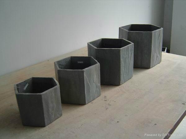GRC planter and cement flower pot 1