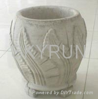 GRC flower pot and GFRC planter 3