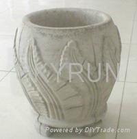 GRC planter and cement flower pot 3