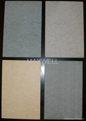 GRC exterior wall panel and fiber cement board