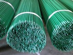 FRP solid stick and fiberglass support stick