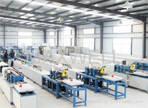 FRP rebar production line and fiberglass rebar machine