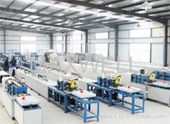Fiberglass rebar machine and FRP rebar production line