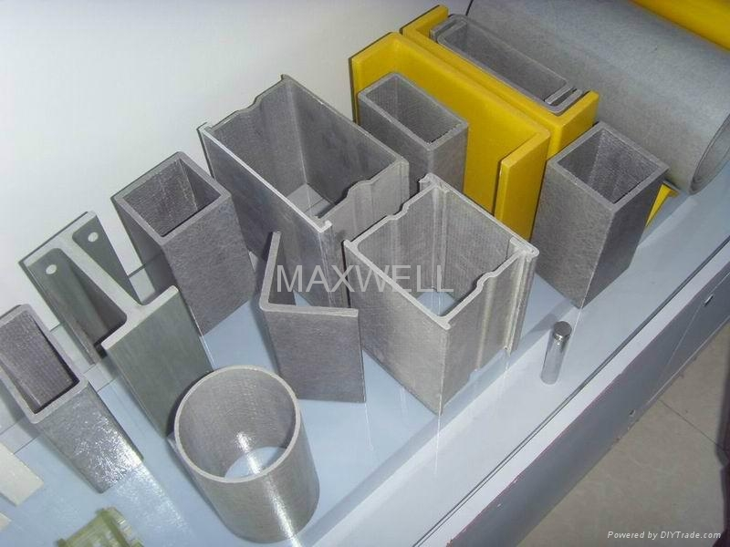 FRP pultrusion profiles and pultruded glassfibre profiles  1
