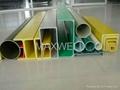 Fiberglass pultrusion tube and glassfibre round tube 2