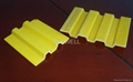 Pultruded fiberglass flat bar and FRP flat strip