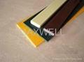 FRP flat bar and fiberglass deck panel