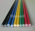 Fiberglass solid stick and FRP solid rod 2
