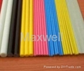 Fiberglass solid stick and FRP solid rod 3