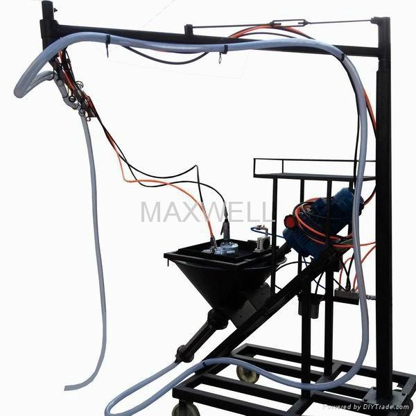 GRC spray machine and GRC pump station 1
