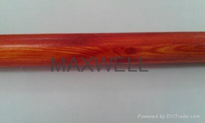 Pultruded fiberglass tube with wood grain 1