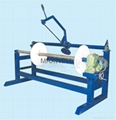 FRP pultrusion machine and FRP production line