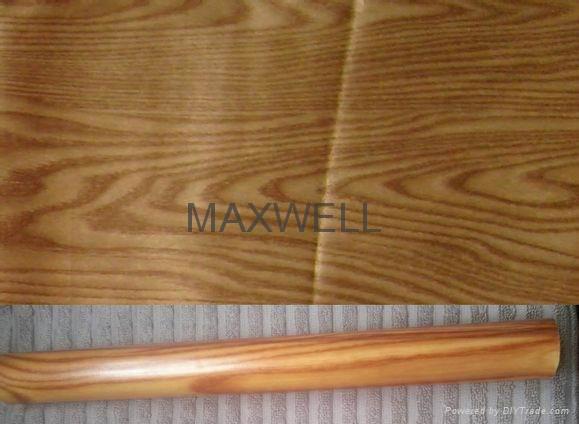 Pultruded fiberglass tube with wood grain 2