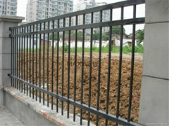 High strength FRP fence and FRP guardrail
