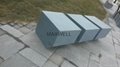 Outdoor fiber cement bench and GRC table
