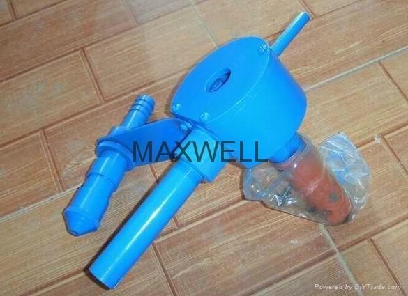 GRC spray machine and GRC pump station 3