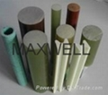 Pultruded epoxy rod for electric insulator