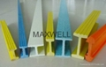 Pultruded fiberglass I beam and FRP H profiles