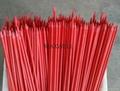 Fiberglass stick and sharpened FRP stick 1