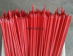 Pultruded fiberglass stick and FRP solid stick