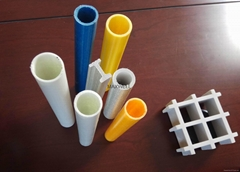 Fiberglass square tube and glassfibre round tube (Hot Product - 1*)