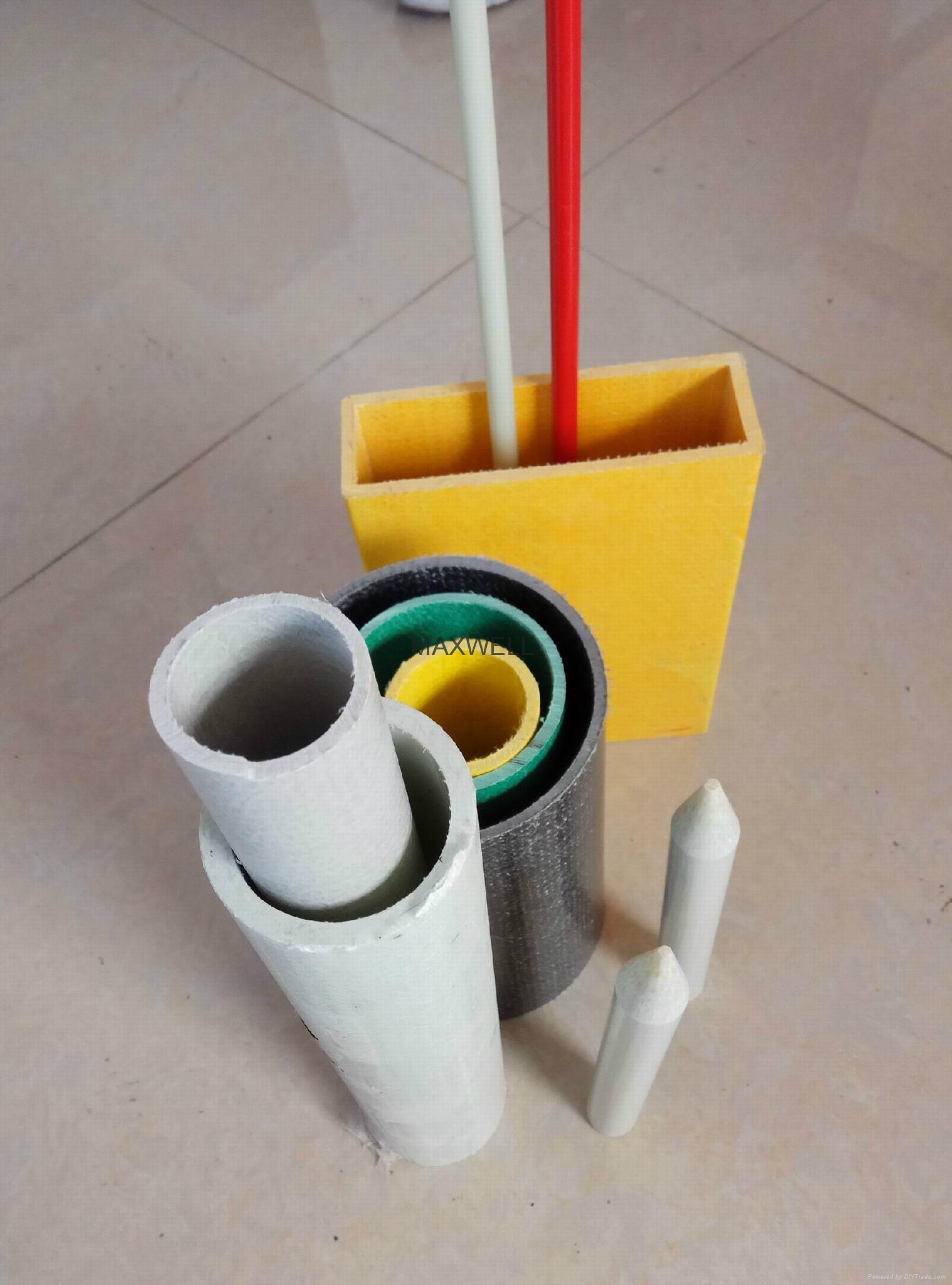 Pultruded fiberglass tube and FRP structural profiles 2