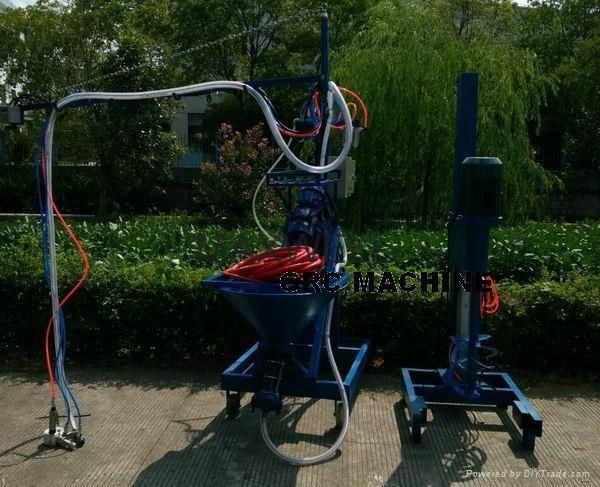 GFRC machine and GFRC pump station 1