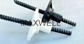 Corrosion resistant glassfiber rebar for
