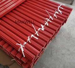 Pultruded FRP stick and solid fiberglass rod