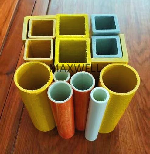 Pultruded fiberglass square tube and FRP square tube 2