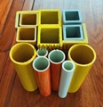 Pultruded fiberglass tube and pultruded square tube 2