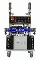 Polyurea spraying machine and polyurea pump 1