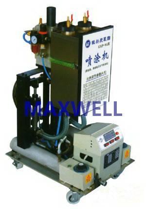 Polyurea spraying machine and polyurea pump 3