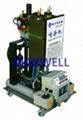Polyurea spraying machine and polyurea pump