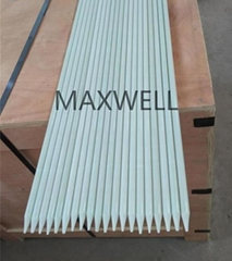 Pultruded FRP stick and FRP solid rod