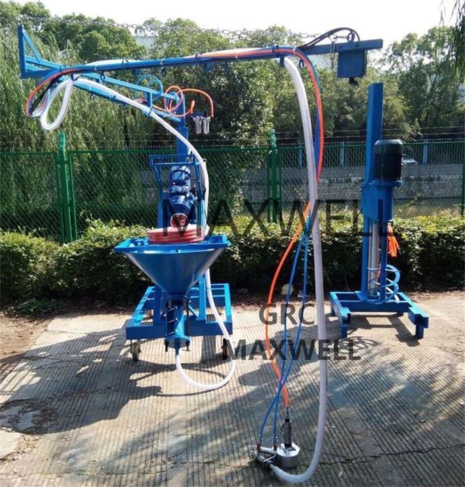 GRC spraying machine and GRC sprayer 1